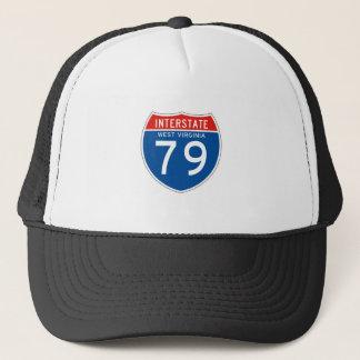 Interstate underteckna 79 - West Virginia Truckerkeps