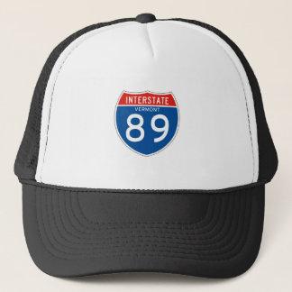 Interstate underteckna 89 - Vermont Keps