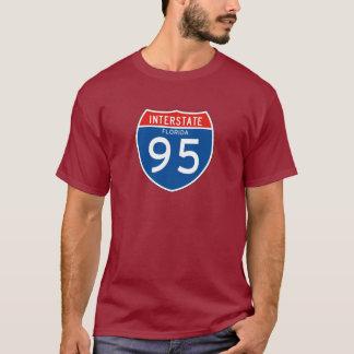 Interstate underteckna 95 - Florida T Shirt