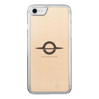Interstellar - Gargantua minimalist Carved iPhone 7 Skal