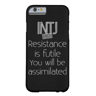 INTJ-motstånd är fruktlöst Barely There iPhone 6 Fodral