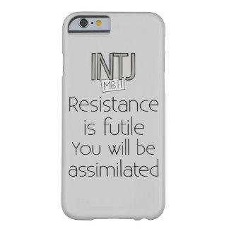 INTJ-motstånd är fruktlöst Barely There iPhone 6 Skal