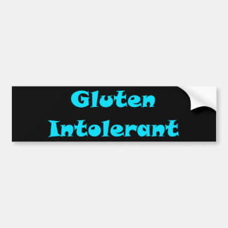Intolerant Gluten Bildekal