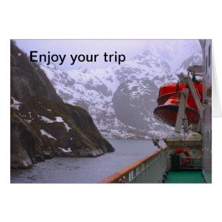 Intrepid utforskare, norsk resa hälsningskort