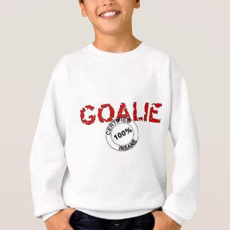 Intygad sinnessjuk Goalie Tee Shirt
