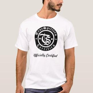 Intygade officiellt för alla tee shirt