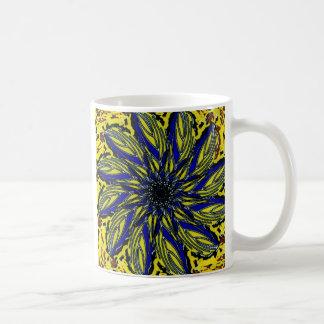 inverterad clematis kaffemugg