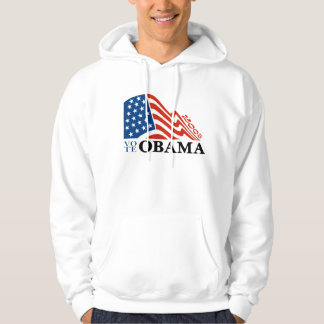 Invigning för för OBAMA flaggaT-tröja & Sweatshirt Med Luva
