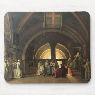Invigningen av Jacques de Molay Musmatta