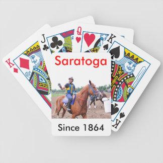 Invigningsdag på Saratoga med Rudy Rodriguez Spelkort
