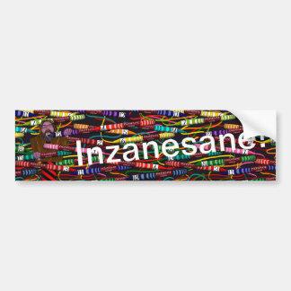 Inzanesanes Crayon Bildekal