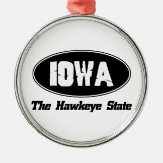 Iowa City DESIGNER Julgransprydnad Metall