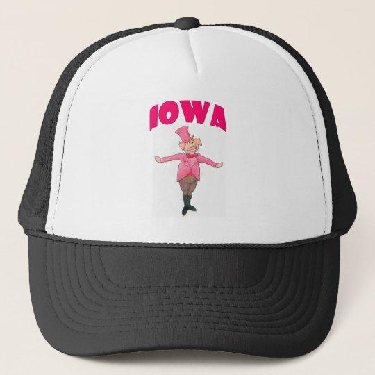 Iowa gris truckerkeps
