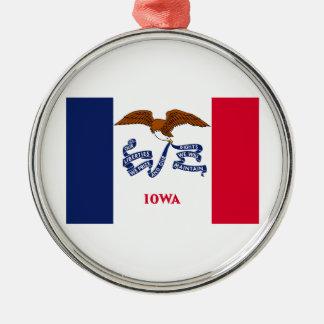 Iowa Julgransprydnad Metall