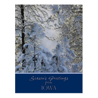 Iowa julkort/statliga specifika vykort