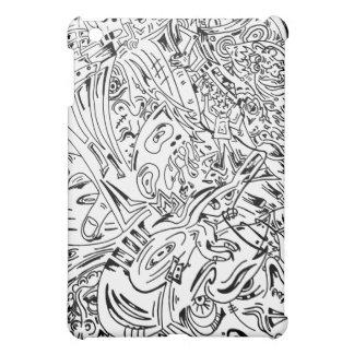 iPad för Sharpiemusikblandning iPad Mini Mobil Skydd