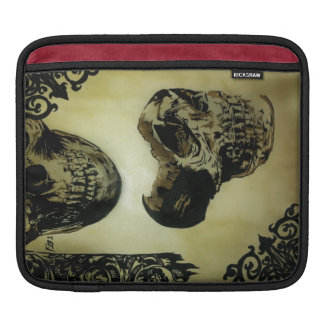 iPad Sleave för Victoriandöskallarpop Sleeve För iPads