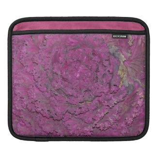 ipad sleeve med purpurfärgad kål