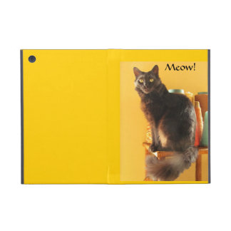 iPadKortkort-Powis - katt med garn iPad Mini Fodral