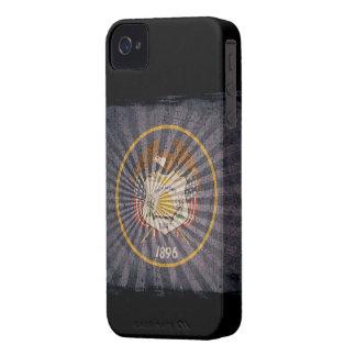 Iphone 4 fodral med statlig flagga av Utah