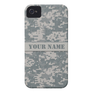 iPhone 4 för kamouflage för personligACU Digital iPhone 4 Case-Mate Fodral