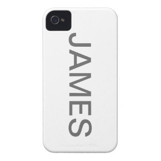 Iphone 4 som namnges fodral (JAMES) iPhone 4 Cases