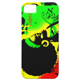 Iphone 5/5S för respekt för Reggaekvinna ont iPhone 5 Cases