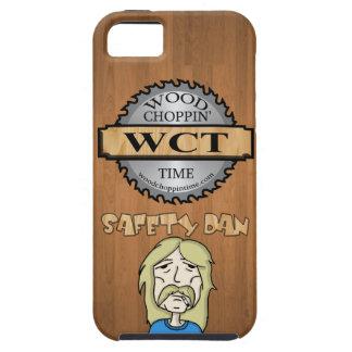 IPhone 5/5S Wood Choppin Time fodral - säkerhet iPhone 5 Skal
