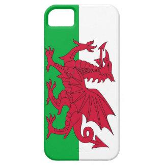 IPhone 5 fodral med flagga av Wales