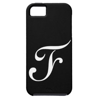 IPhone 5 för f-Monogramsvart fodral Tough iPhone 5 Fodral
