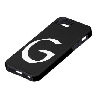 IPhone 5 för G-Monogramsvart fodral iPhone 5 Skydd