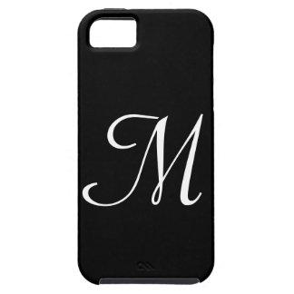 IPhone 5 för M-Monogramsvart fodral iPhone 5 Skydd