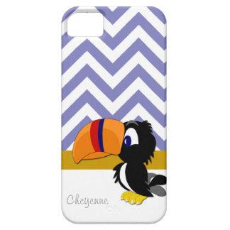 iPhone 5 för Toucan blåttsparre knappt där iPhone 5 Skal