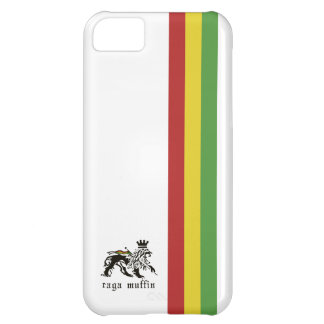 Iphone 5 för vitRasta rand fodral iPhone 5C Fodral