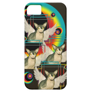 iPhone 5 regnbågeänglar för fodral | Sphynx iPhone 5 Case-Mate Cases