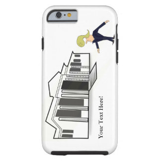 iPhone 6/6s, mobilt fodral för tuff - TRUMF VIT Tough iPhone 6 Case