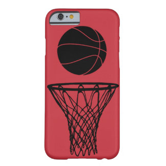 iPhone 6 röda tjurar för fodralbasketSilhouette Barely There iPhone 6 Skal