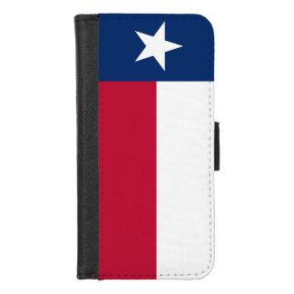 iPhone 7/8 plånbokfodral med den Texas flagga