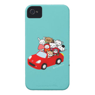 iphone case - AllCharacters - RedCar iPhone 4 Case-Mate Fodraler