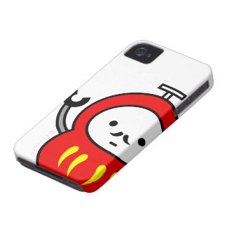 iphone case - Daruma robot iPhone 4 Cases