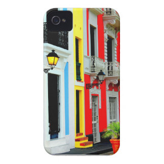 Iphone case färgrika gammala San Juan Puerto Rico Case-Mate iPhone 4 Case