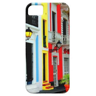 Iphone case färgrika gammala San Juan Puerto Rico iPhone 5 Cases
