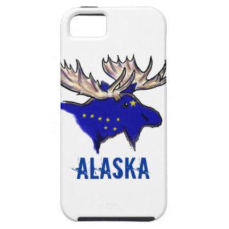 Iphone case för älg för Alaska pridestatlig flagga Tough iPhone 5 Fodral
