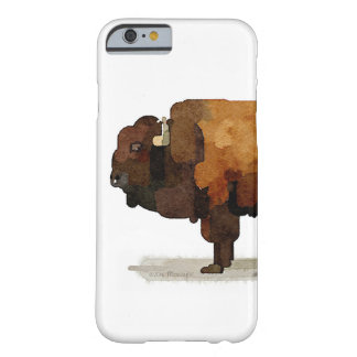 Iphone case för amerikanbuffel (Bison) Barely There iPhone 6 Skal