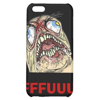 Iphone case för ansikte för FUUUU-internetMeme iPhone 5C Mobil Skal