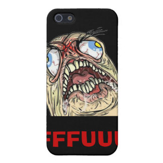 Iphone case för ansikte för FUUUU-internetMeme urs iPhone 5 Cover