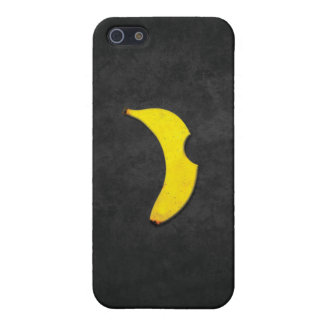 "iphone case för banan""äpple"" logotyp iPhone 5 cover"