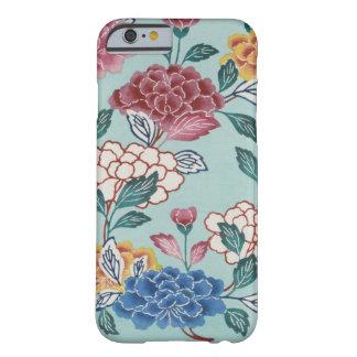 Iphone case för blått för konst för barely there iPhone 6 skal