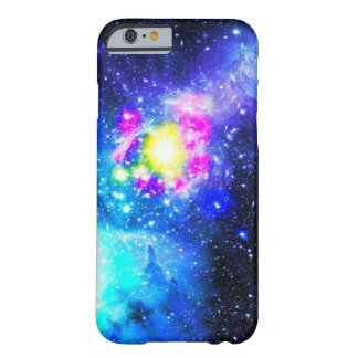 Iphone case för blåttgalaxNebula Barely There iPhone 6 Skal