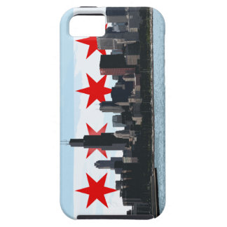 Iphone case för Chicago flaggahorisont iPhone 5 Fodral